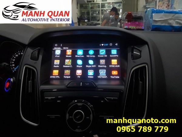 Màn Hình DVD Android Cho Xe Ford Focus - Mạnh Quân Auto | 0965789779