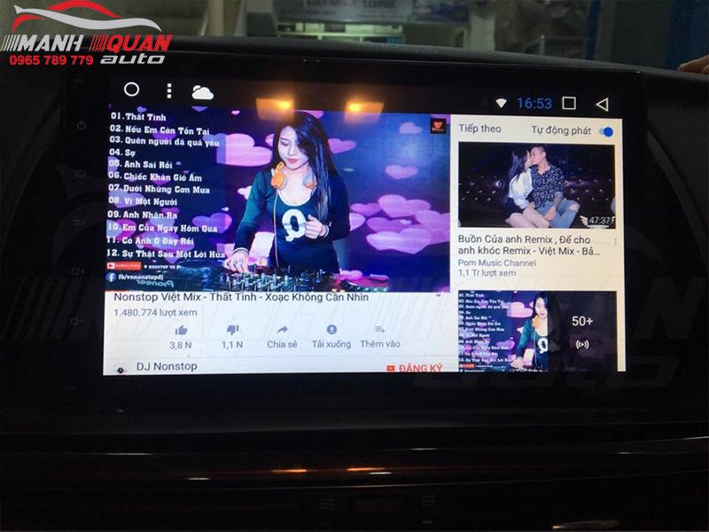 Màn Hình DVD Android Theo Xe Mazda CX5 2015