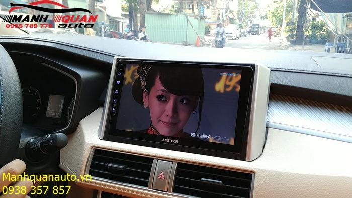 Màn Hình DVD Android Zestech Cao Cấp Cho Xpander - DVD Công Nghệ Nhật