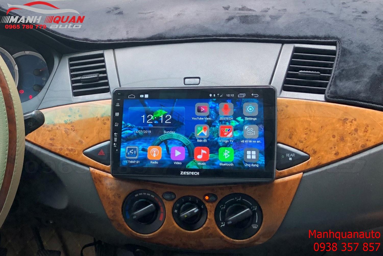 Màn Hình DVD Android Zestech Z500 Cho Mitsubishi Zinger