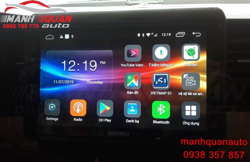 Màn Hình DVD Android Zestech Z500 Cho Suzuki Ertiga 2019