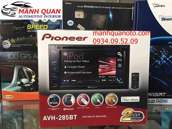 Màn Hình DVD Pioneer AVH-285BT Cho Toyota Fortuner