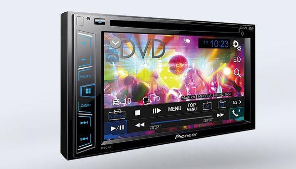 Màn Hình DVD Pioneer AVH-285BT Cho Toyota Land Cruiser Prado