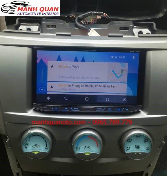 Màn Hình DVD Pioneer AVH-X8850BT Cho Mercedes S Class | Pioneer Chính Hãng