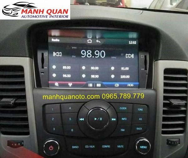 Màn Hình DVD Worca S90 Cho Chevrolet Spark Duo