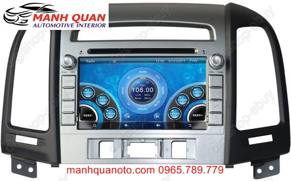 Màn Hình DVD Worca S90 Cho Hyundai Starex