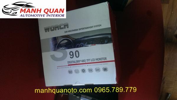 Màn Hình DVD Worca S90 Cho Isuzu D-Max X-Motion