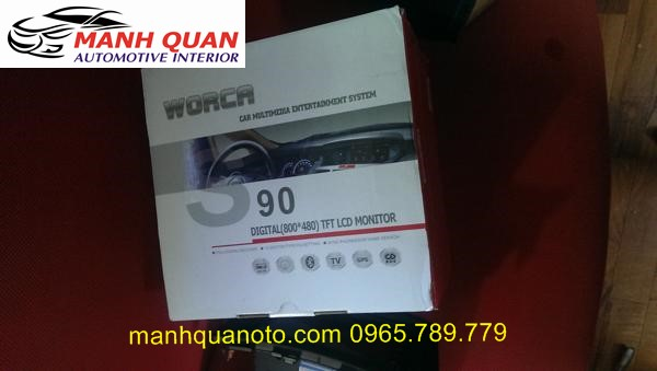Màn Hình DVD Worca S90 Cho Subaru BRZ