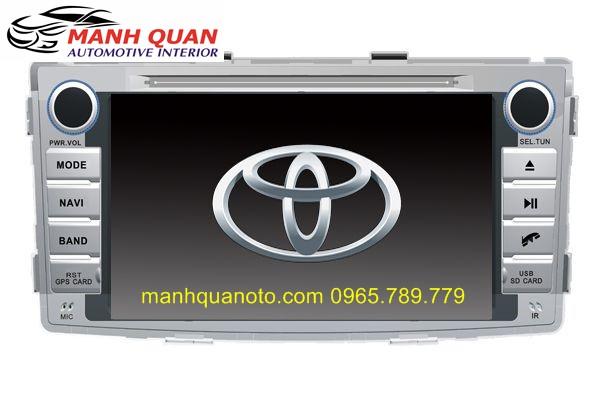 Màn Hình DVD Worca S90 Cho Toyota Fortuner