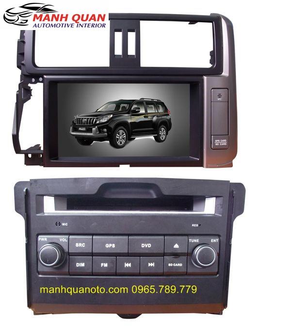 Màn Hình DVD Worca S90 Cho Toyota Land Cruiser Prado