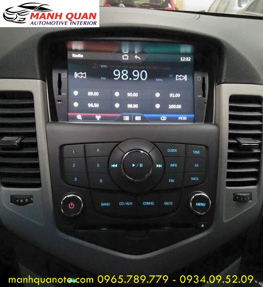 Màn Hình DVD Zin Theo Xe Chevrolet Cruze   DVD Worca S90