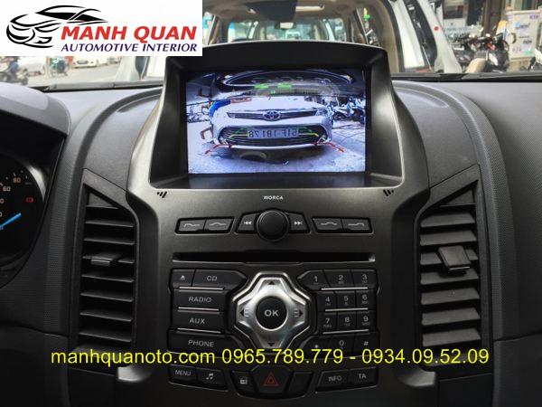 Màn Hình DVD Zin Theo Xe Ford Ranger | DVD Worca S90