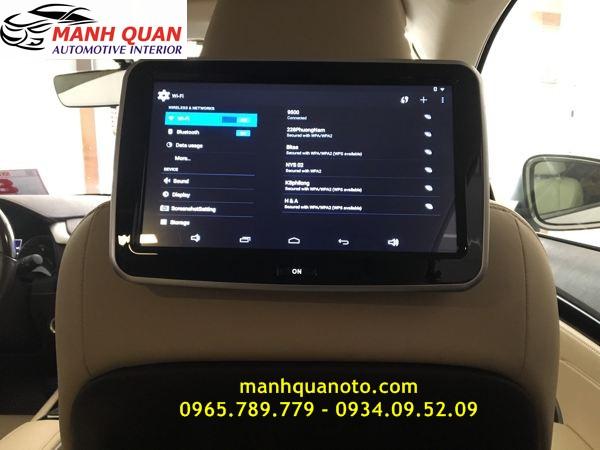 Màn Hình Gối Đầu Android Cho Toyota 86