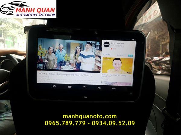 Màn Hình Gối Đầu Android Cho Toyota Land Cruiser Prado