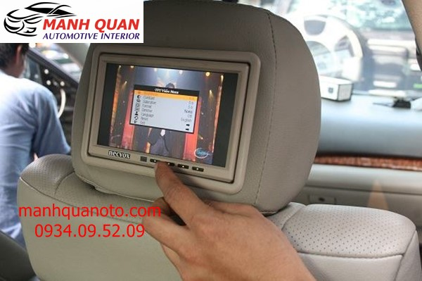 Màn Hình Gối Đầu Cho Xe Toyota Land Cruiser