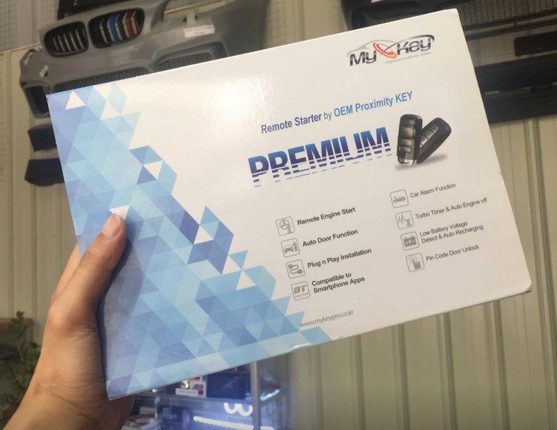 Mykey Premium Chìa Khóa Thông Minh Cho Kia Sedona