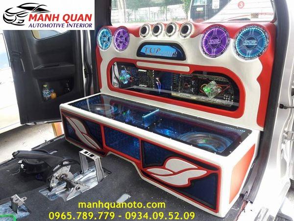Nâng Cấp Âm Thanh Cho Chevrolet Spark Duo Chuyên Nghiệp