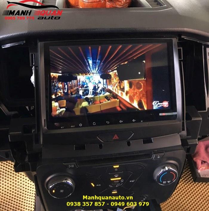 Phân Phối Màn Hình Android Cao Cấp Cho Ford Ranger | Mạnh Quân Auto