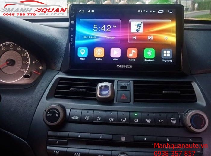 Phân Phối Màn Hình Android Zestech Cao Cấp Cho Honda Accord 2007