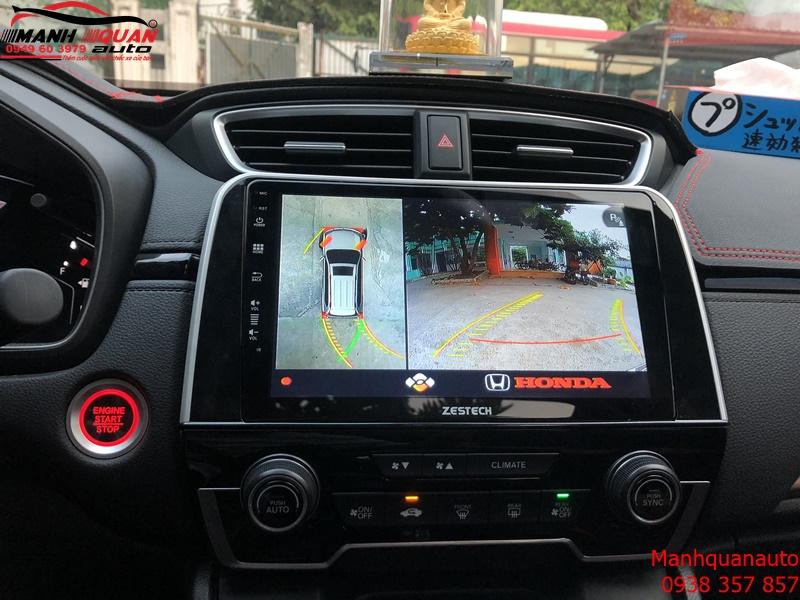 Tấn Tần Tật Những Tính Năng Thông Minh Của Camera 360 DCT Bản T3 Cho Honda CRV