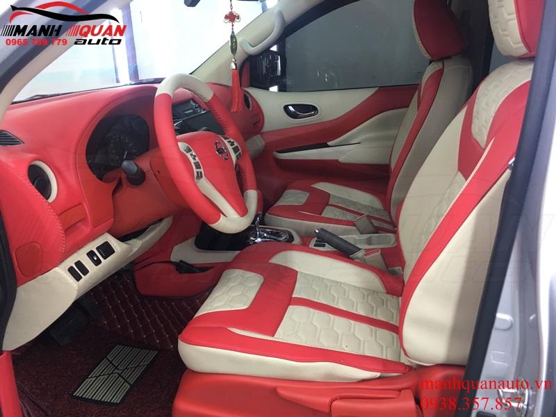 Thay Đổi Màu Nội Thất Full Xe Nissan Navara Giá Tốt
